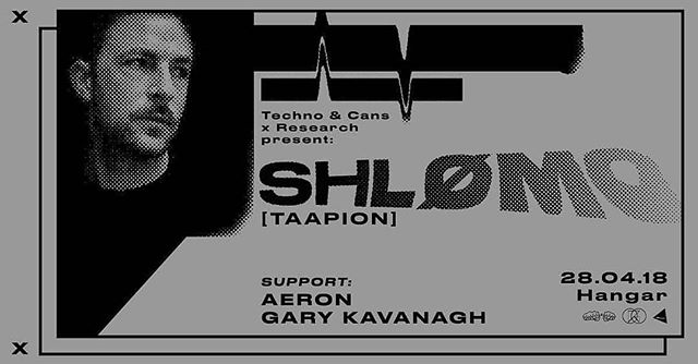 @techno_and_cans x Research tonight in our warehouse.  Techno coming form heavy hitting frenchman, Shlømo