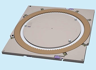 "LED Ring   Challenge:  Our customer needed to design an LED Ring assembly used to detect the placement of a wafer at an input/output station located between two separate areas of the tool.   Requirement:  Provide wafer locating capabilities for 300mm wafers within an envelope of 15.5"" x 15.5"" x 0.8"" using an LED ring while also providing system interlocking via sensors to prevent robot collisions.   Result:  Blue Ridge Systems designed an assembly that meet all of the requirements while fitting in the required envelope."
