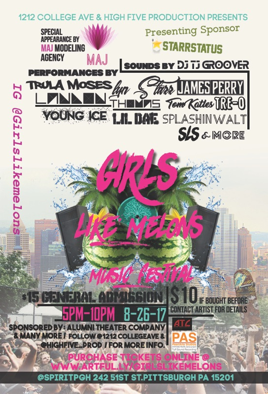 Hall: Girls Like Melons Music Festival — Spirit