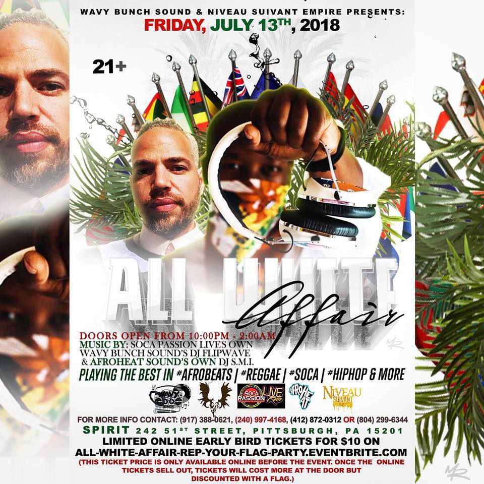 Hall: All White Affair: Rep Your Flag Party — Spirit
