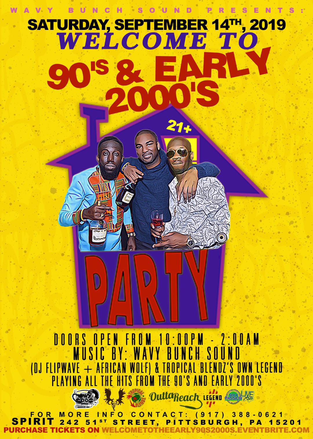 Hall: Wavy Bunch Sound presents: Welcome to The 90's & Early