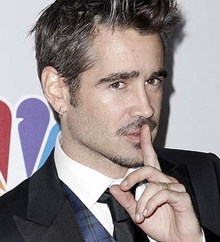 """Hush little babies. My D is true"" - Colin Farrell"