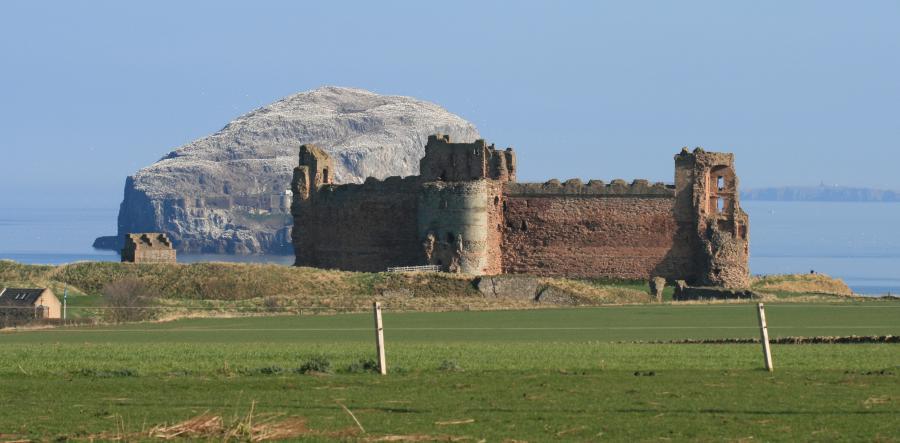 north berwick, TaNTAllon castle