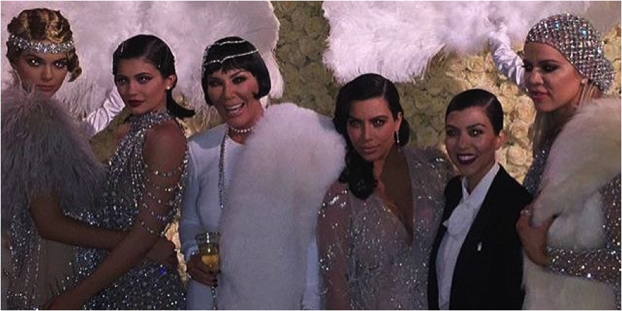 A rare glimpse of overt Satan possession in the Kardashian-Jenner crew