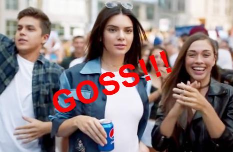 Kendall Jenner Pepsi Hot Goss