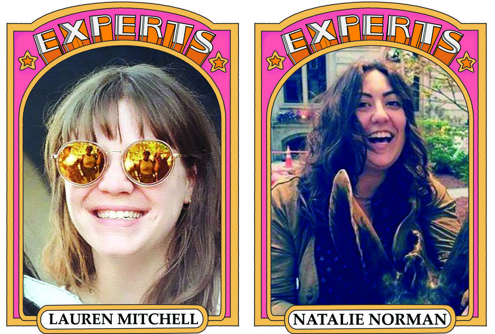 Lauren Mitchell and Natalie Norman for episode four of Experts on Comedy Podcasting
