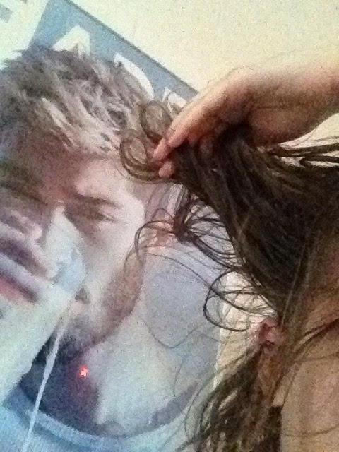 hair for harry. (zayn Malik for scale)