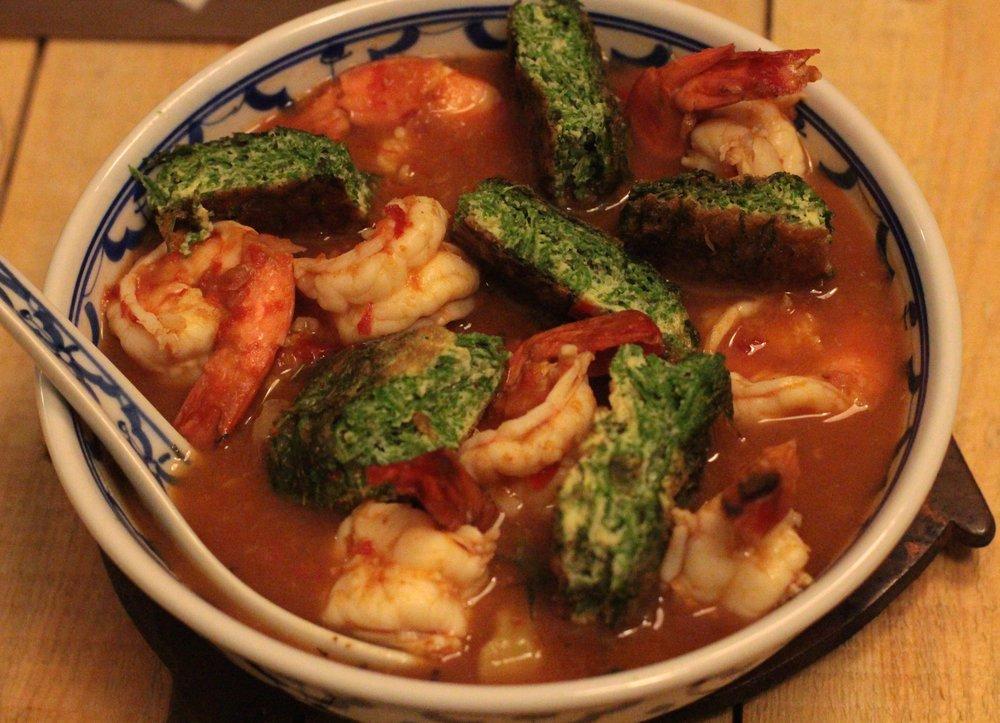 鮮蝦時蔬酸咖哩