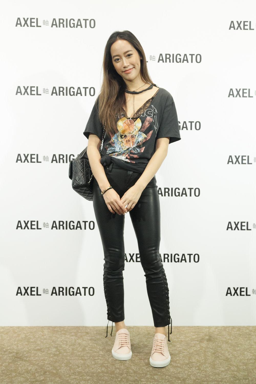 瑞典新興潮流鞋履品牌AXEL ARIGATO正式抵台_ 蒞臨嘉賓_Lash Lab 負責人廖津琳 Tammy.jpg