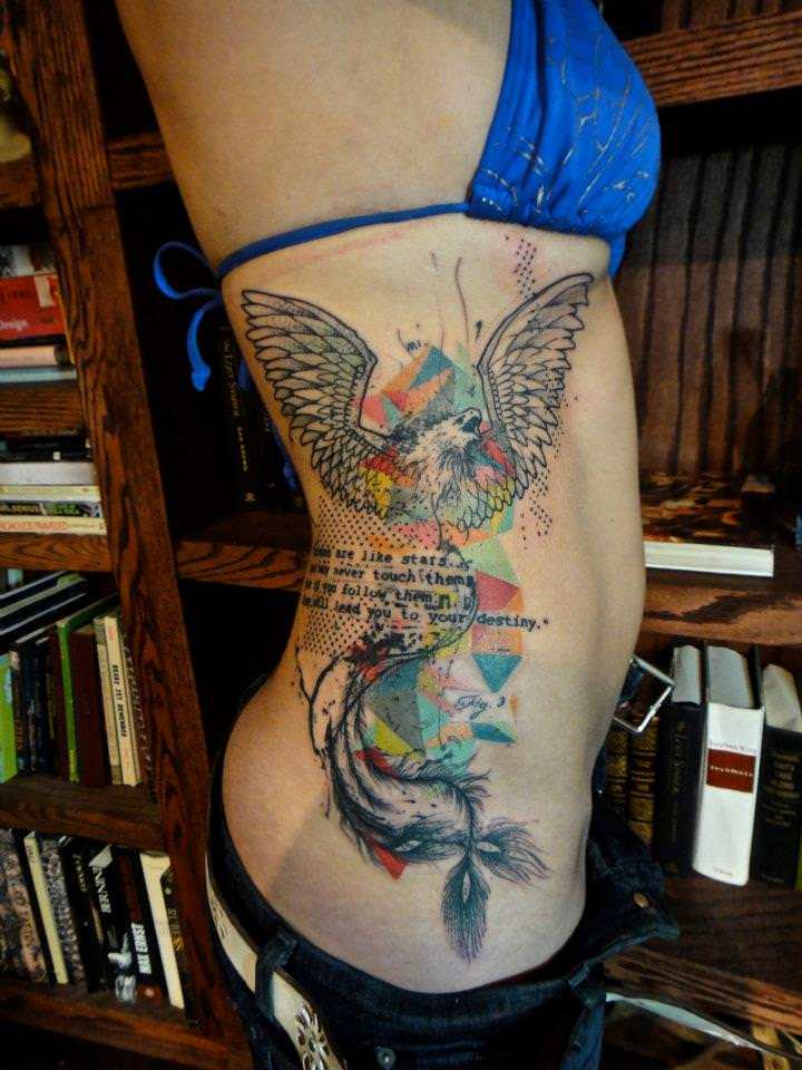 A-phoenix-flirts-with-geometric-shapes-in-this-artistic-abstract-tattoo-by-Xoil.jpg