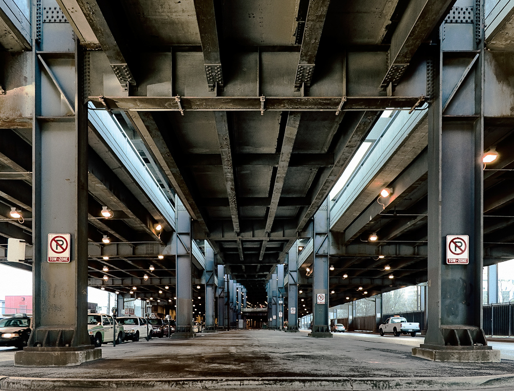 No Parking on Sub Lower Wacker