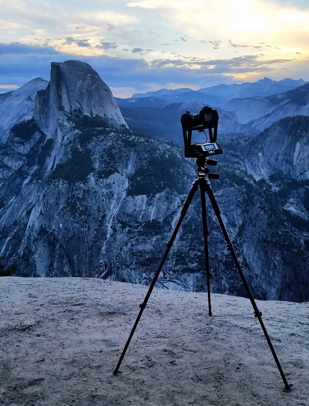 I use a Gigapan Epic Pro as my tripod head which helps automate the shooting process.