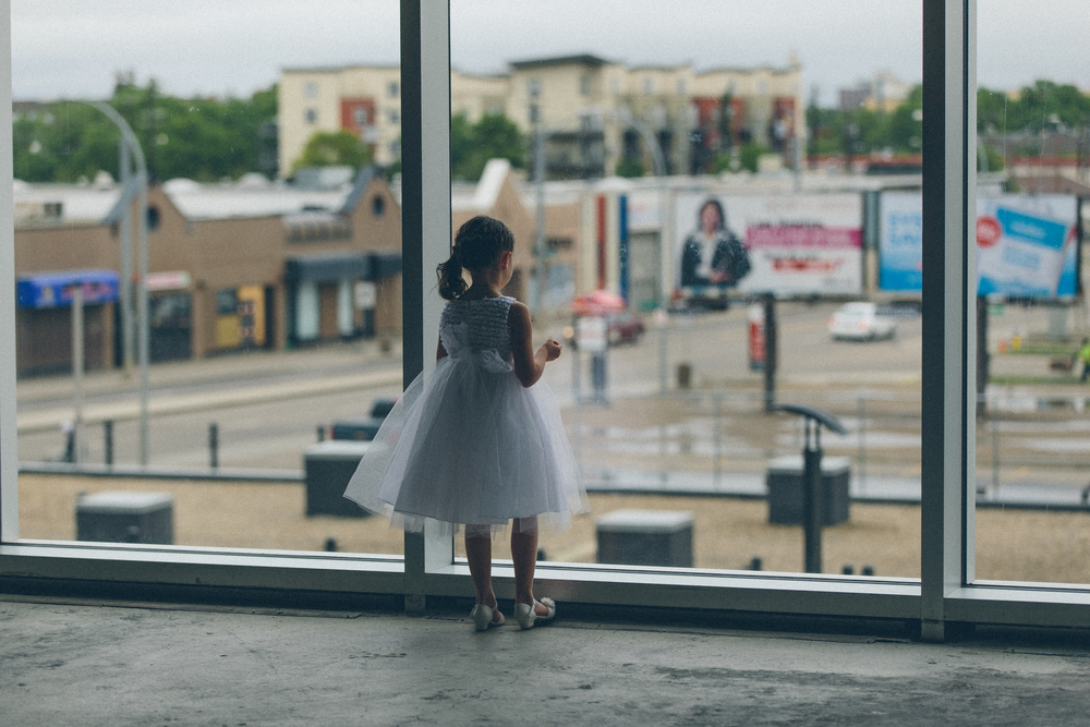 A flower girl reflects.