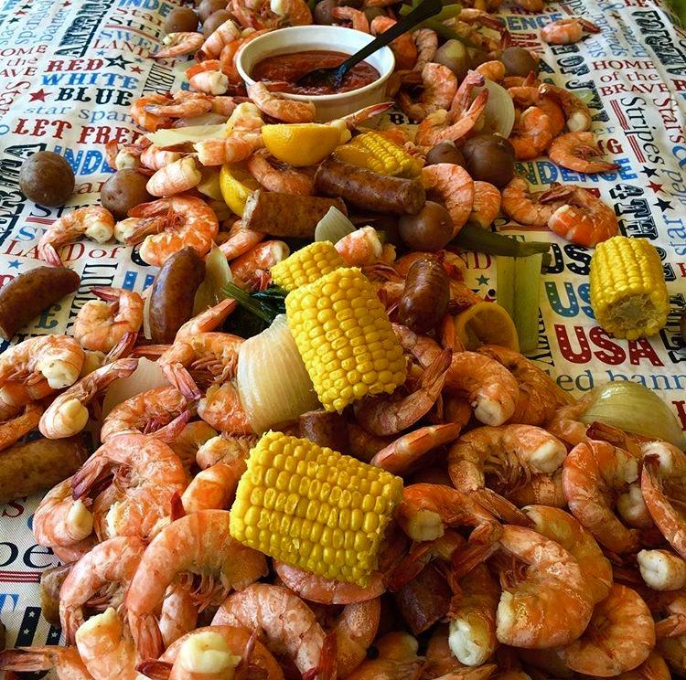 Image Gallery shrimp boil