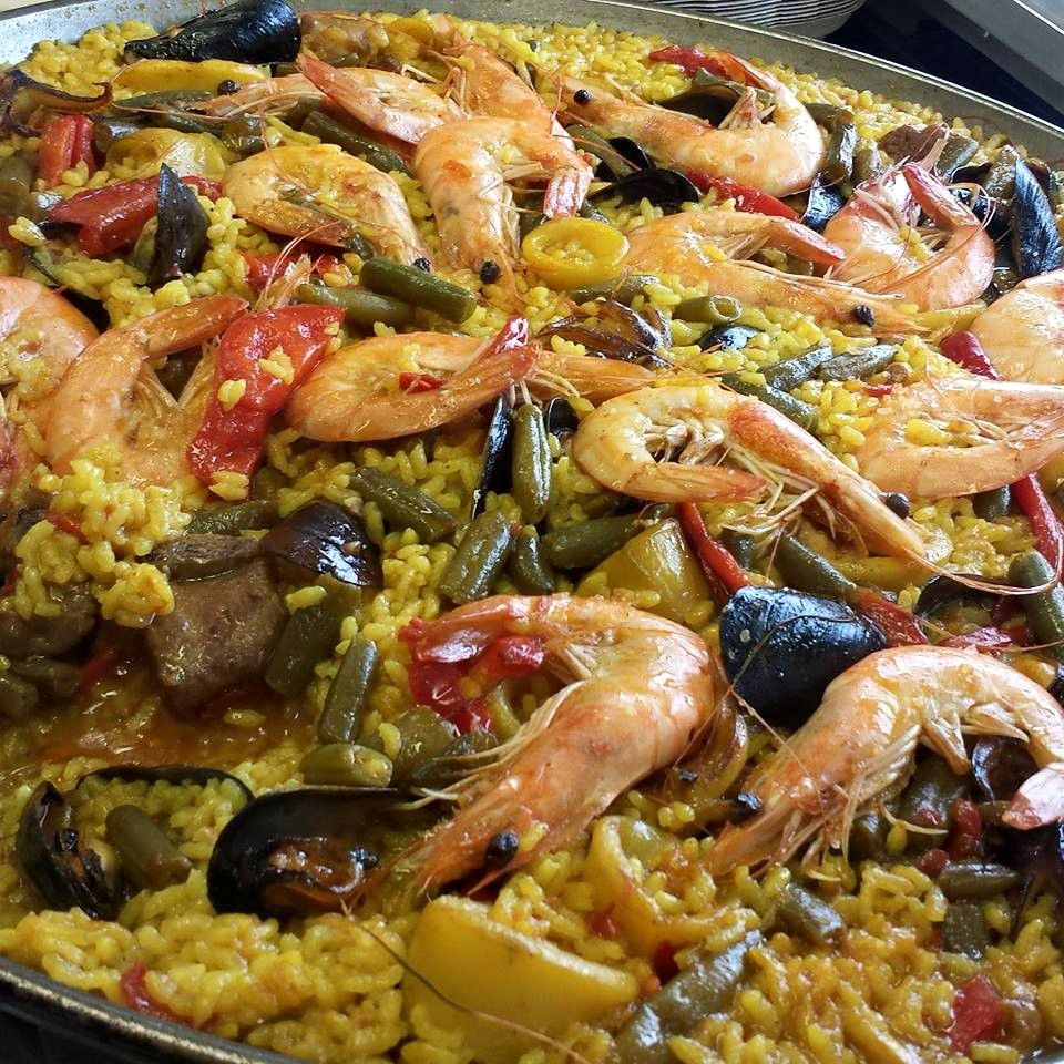 Vendors like Calpe Paella (Above) and Lil' Burma will be showcasing their iconic seafood dishes featuring sustainably sourced seafood.
