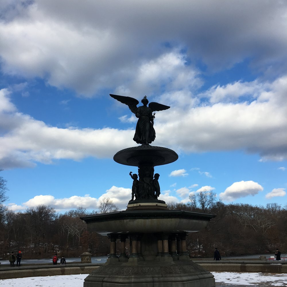 Bethesda Fountain in Central Park NYC