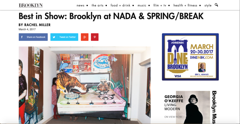 Apartment 2L curated by  Joyce Chan  featured in  Brooklyn Magazine