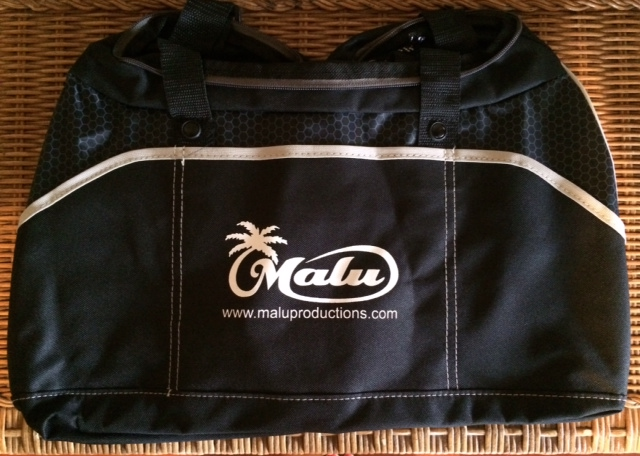 Black Malu Duffle Bag - Price: 2 Malu Bucks