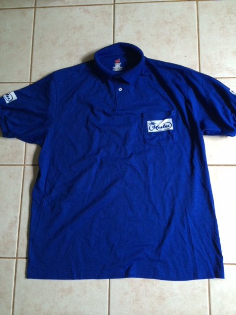 Malu Royal Blue Polo - Price: 2 Malu Bucks