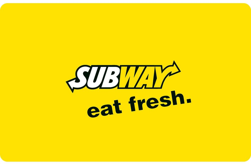 Subway Gift Card - $25 - Price: 3 Malu Bucks