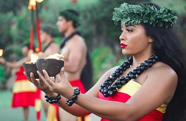 `Eo mai e Pele🔥• • • • #maluproductions #kamoanaluau #luau #kahiko #pele #fire #oahuluau #poerava