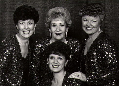 Clockwise from top left; Sandi Wright, Elizabeth Hardcastle, Diane Huber, Shelly Sweet.