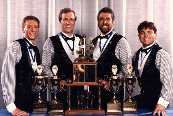1994 International Quartet Champions, Barbershop Harmony Society.