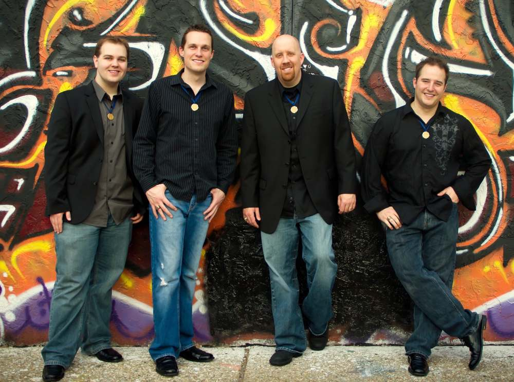 Vocal Spectrum: Tim Waurick, Eric Dalbey, Chris Hallam, Jonny Moroni