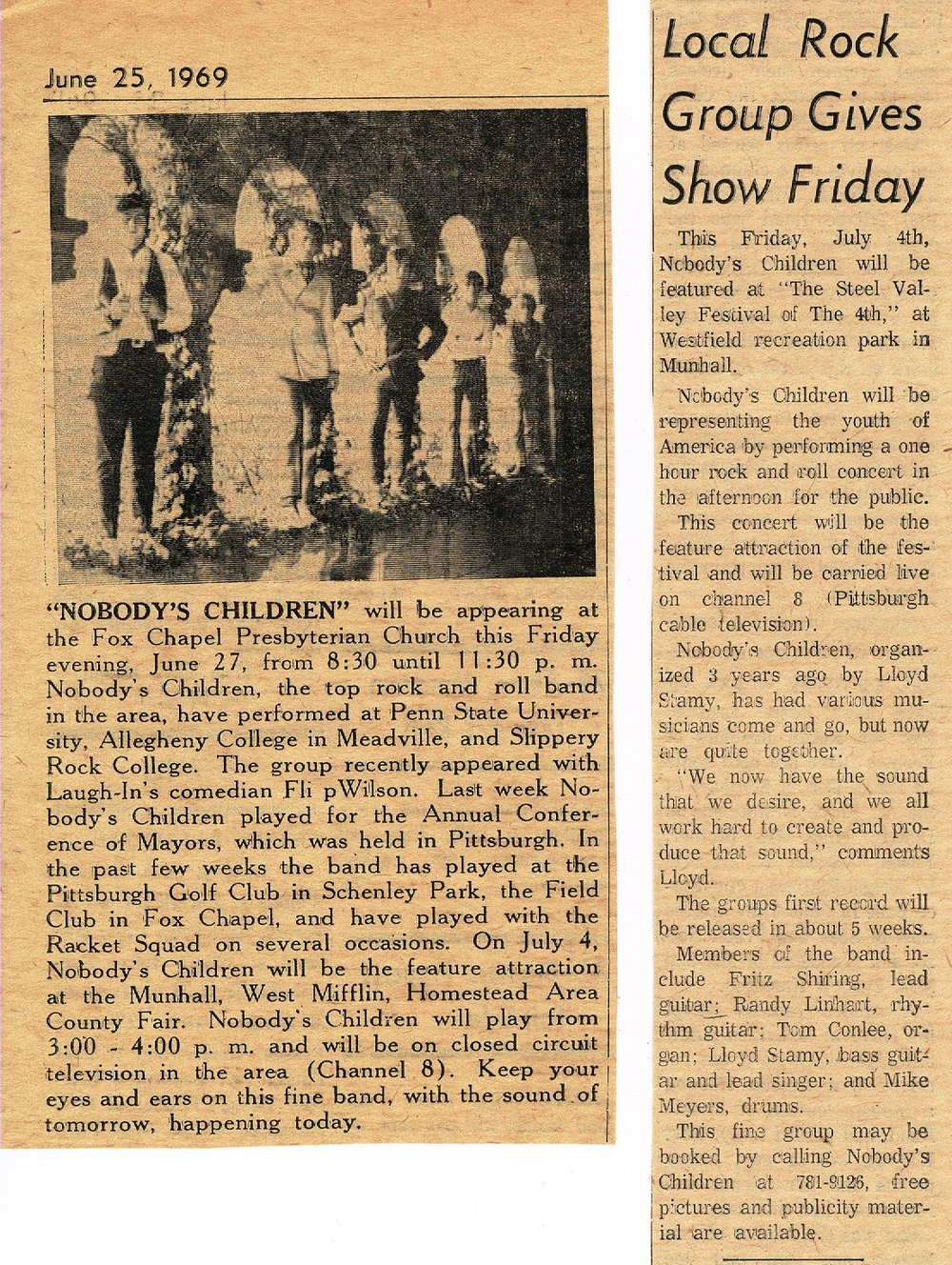 35 - Nobody's Children - Newspaper  Clippings from 1969 .jpg