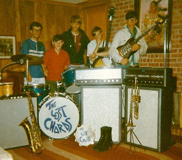 46 - The Lost Chords - Jim, Tom, Lloyd, Herb & Ray - At Practice .jpg