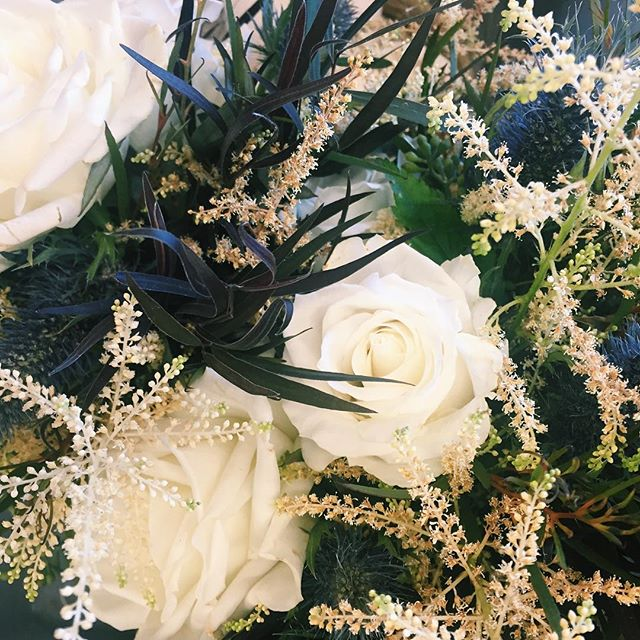 @floraloccasions always has the best flowers lying around. #flowers #wedding #florals