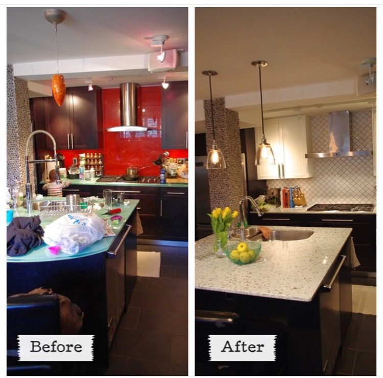 before after w14th kitchen