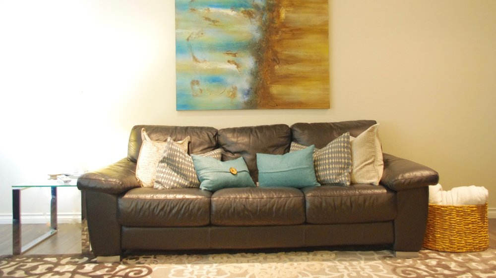 W16th: Living Room  - Sophistication + comfort get added to a Cambie Village living room, perfect for 2 growing boys