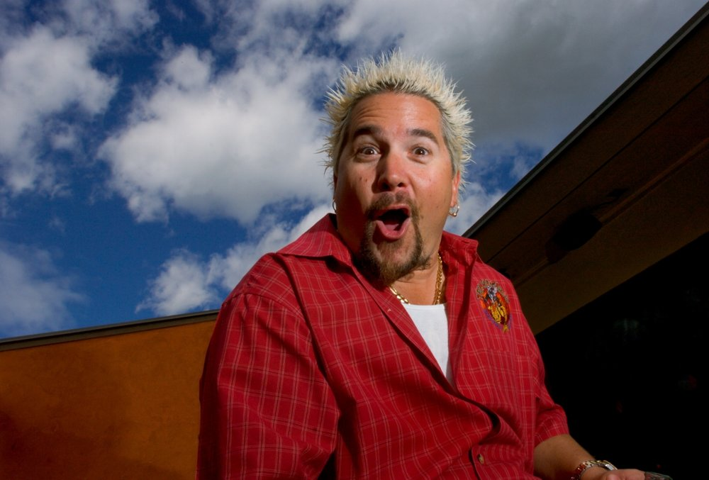 Restauranteur and Food Network personality, Guy Fieri at his restaurant, Tex Wasabi's in Sacramento on Tuesday March 27, 2007.