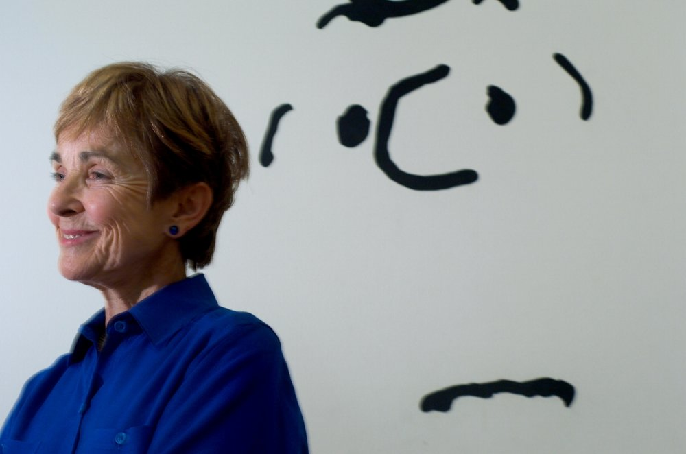 "Jeannie Schulz, wife of ""Peanuts"" comic strip creator Charles Schulz at the Charles M. Schulz Museum in Santa Rosa on Wednesday July 18, 2007."