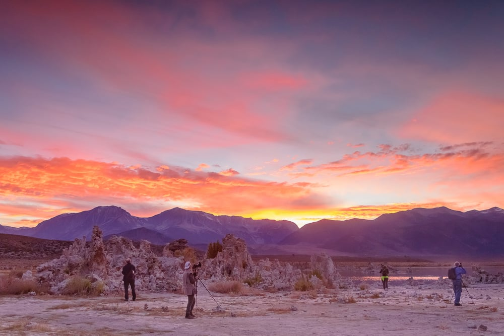 WOW. Just. Wow.  It was beyond magical having the group experience AND photograph this firestorm sunset at Mono Lake.
