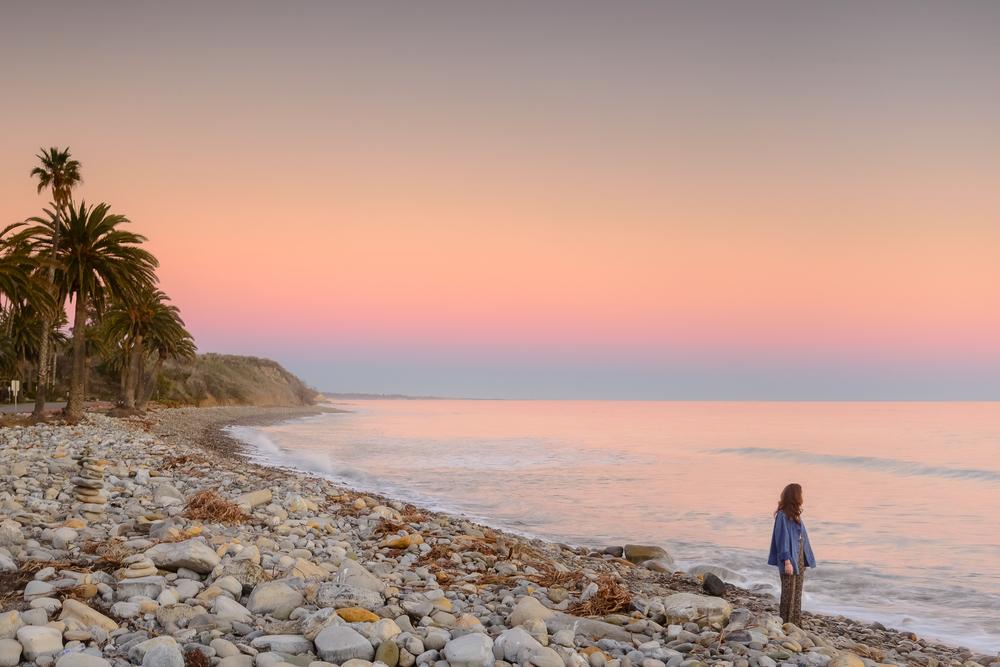 Twilight at Refugio. Santa Barbara, CA