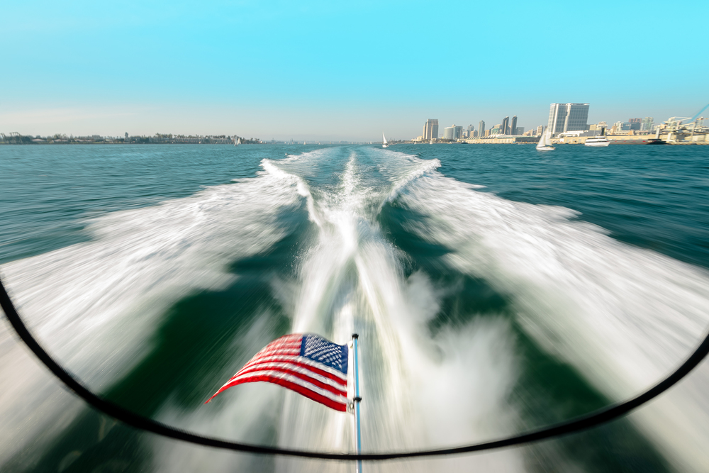 Cruise on America. San Diego, CA