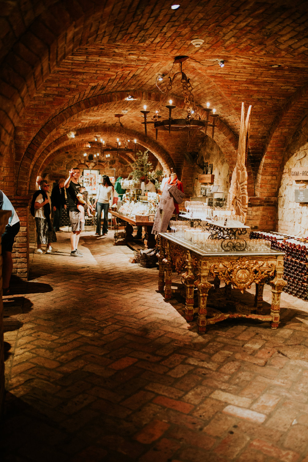 Have you tried wine tasting in a dungeon?