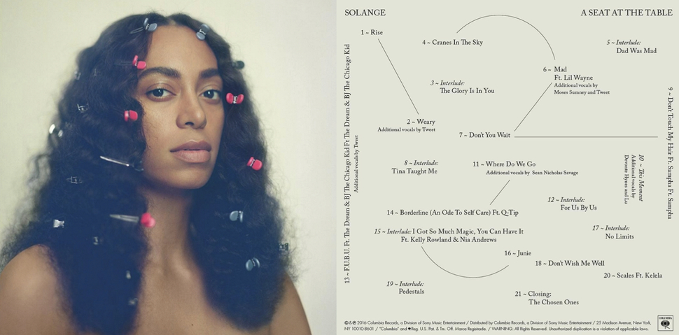 A Seat at the Table , Solange 2016.