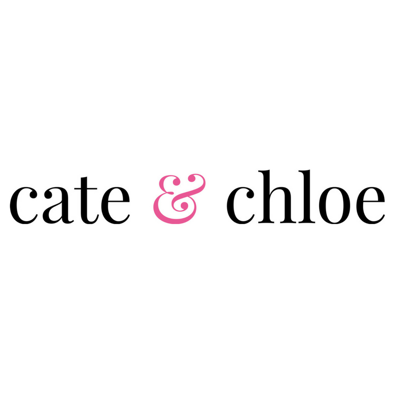 Brand identity for   Cate & Chloe   jewelry brand, 2016.