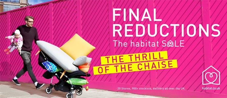 Habitat Sale Campaign by Portas