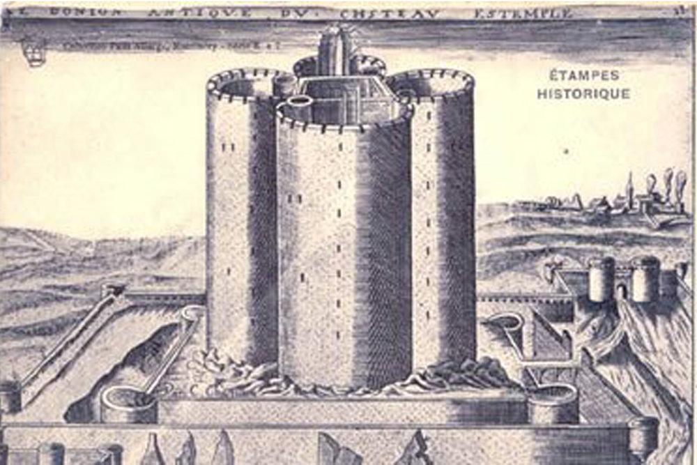 Château d'Étampes