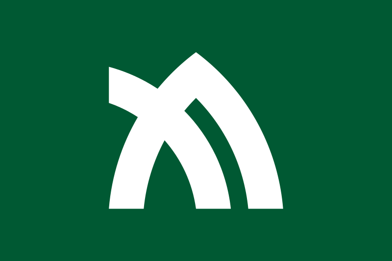 Kagawa ,a stylised and slightly rotated katakana of カ ( ka ). It also represents mountains, as well as leaves of the olive, the prefectural tree.