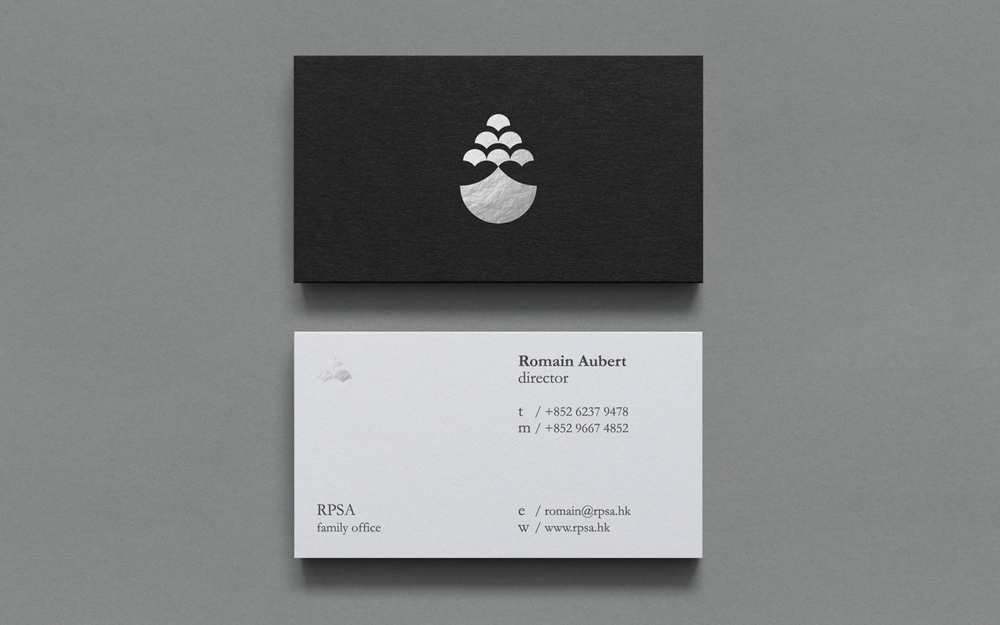 RPSA   —Creating a corporate identity for a family office