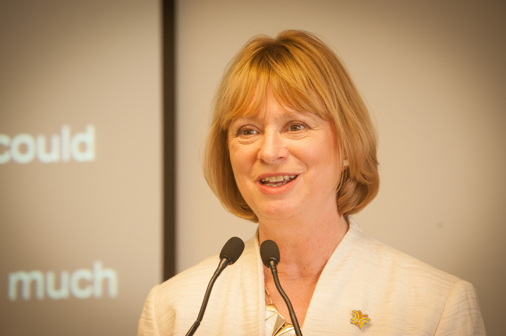 Dr Lorraine Gailey, Chief Executive of Hearing Link