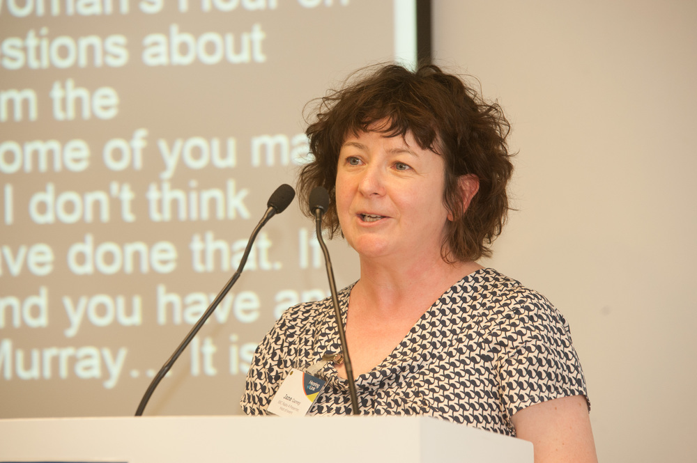 BBC Radio Four's Woman's Hour presenter Jane Garvey