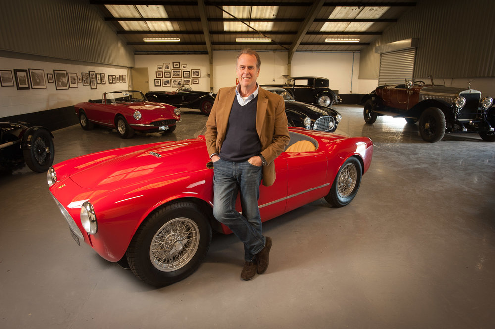 Vintage and classic car expert Martin Chisholm