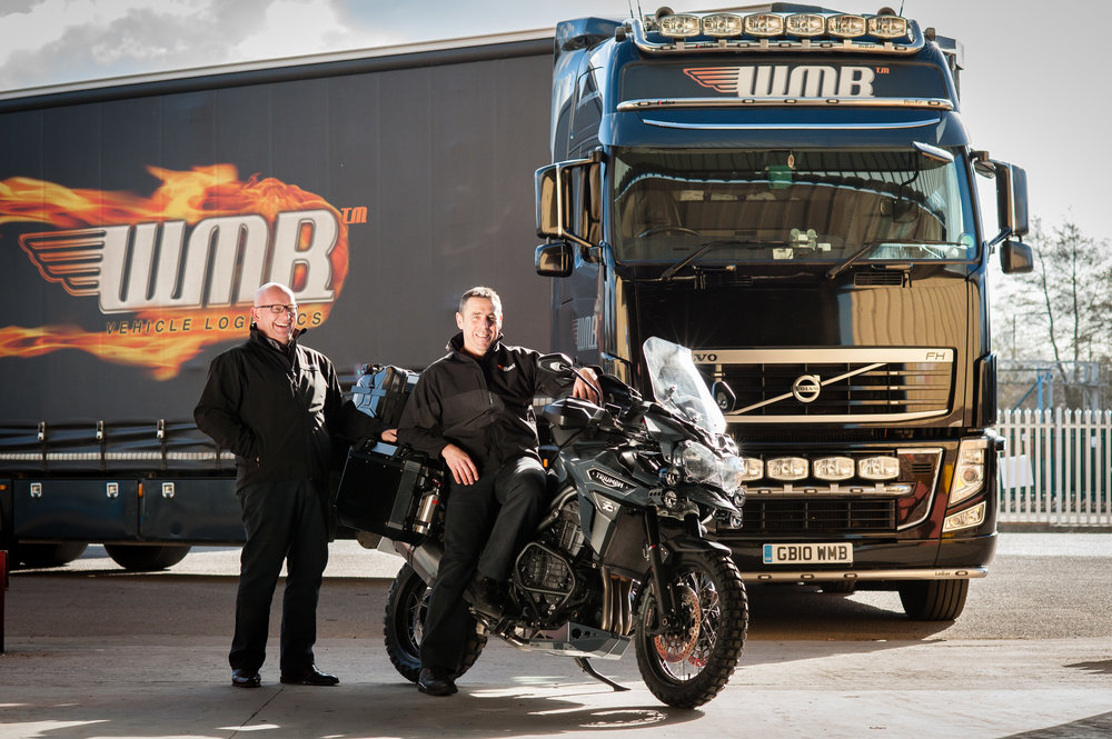 Paul and Tony founders of WMB Logistics