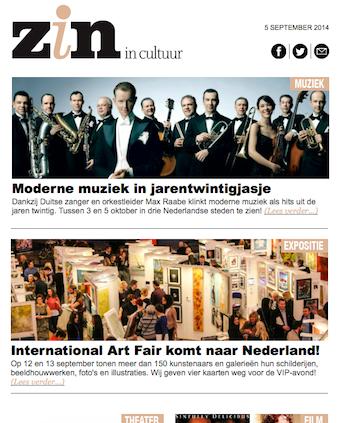 Zin Cultuur Magazine